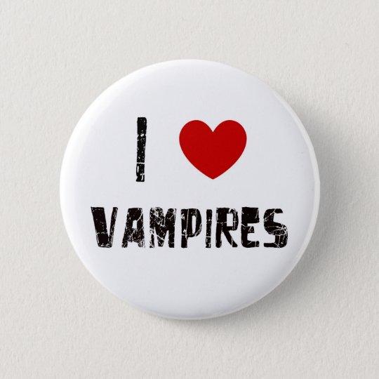 i heart vampires button