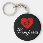 I heart Vampires Keychain