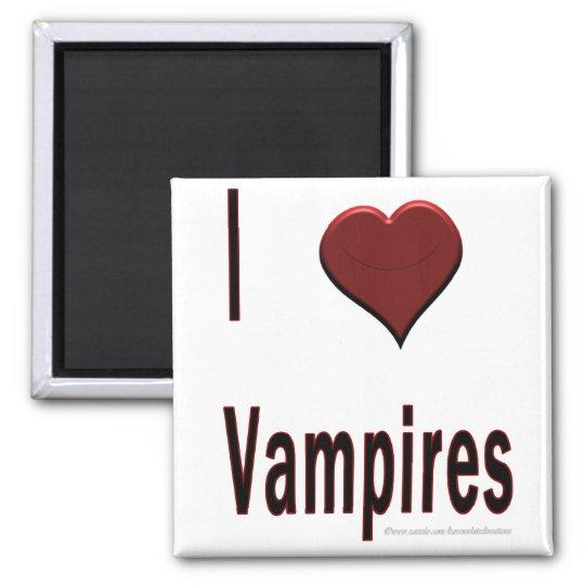 I Heart Vampires Magnet