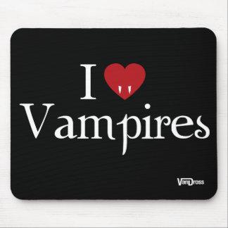 I Heart Vampires Mousepad