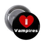 I heart Vampires Pinback Button
