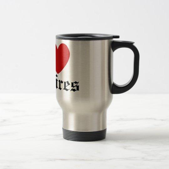 I heart Vampires Travel Mug