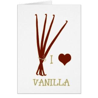 I heart Vanilla Card