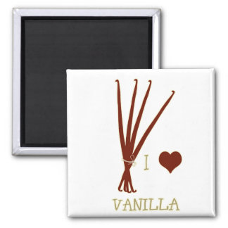I heart Vanilla Magnet