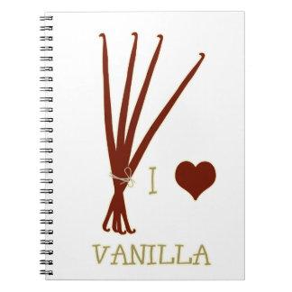 I heart Vanilla Notebook