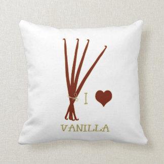 I heart Vanilla Throw Pillow