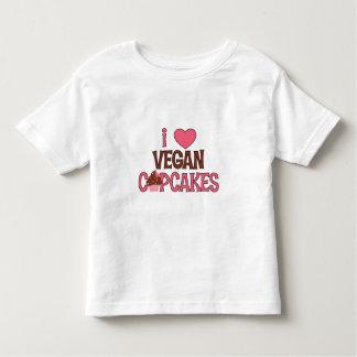 I Heart Vegan Cupcakes Toddler T-shirt