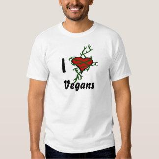 I Heart Vegans T-shirt