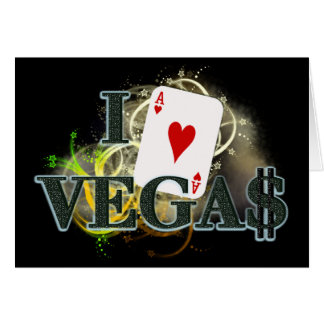 I Heart Vegas Greeting Cards