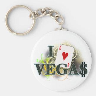I Heart Vegas Keychain