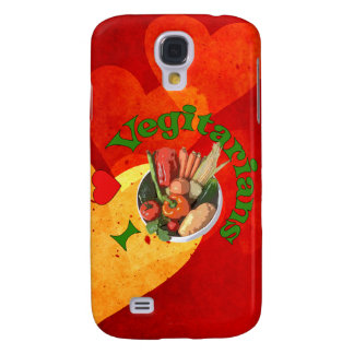 I Heart Vegetarians Galaxy S4 Covers