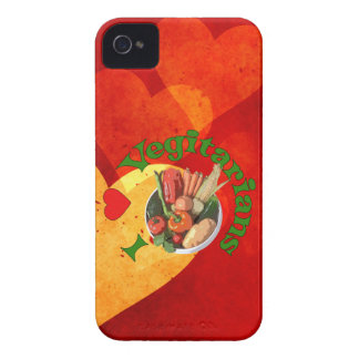 I Heart Vegetarians Case-Mate iPhone 4 Case