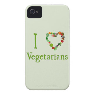I Heart Vegetarians iPhone 4 Cover