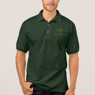 I Heart Vegetarians Polo Shirt