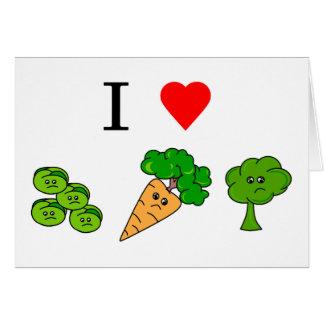 i heart veggies card