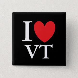 I Heart Vermont Pinback Button