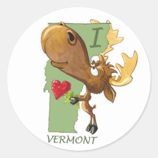 I Heart Vermont Sticker