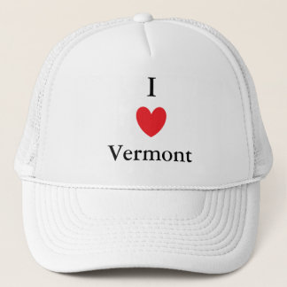 I Heart Vermont Trucker Hat