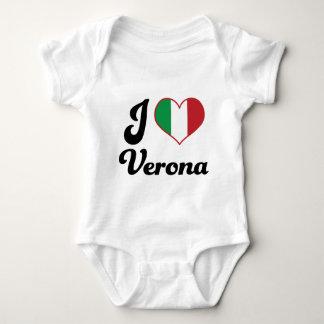 I Heart Verona Italy (Love) Baby Bodysuit