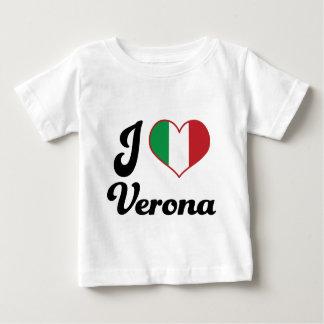 I Heart Verona Italy (Love) Baby T-Shirt