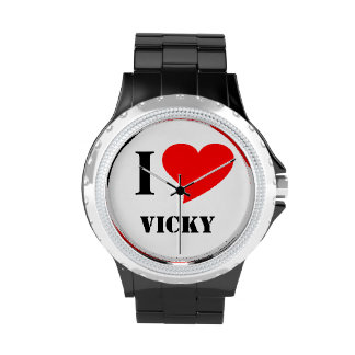 I heart Vicky Wristwatches