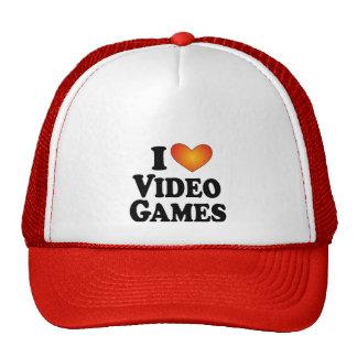 I (heart) Video Games - Lite Multi-Product T-Shirt Trucker Hat
