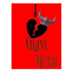 *I -heart- Viking Metal* Post Cards