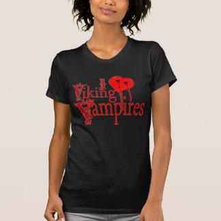 I Heart Viking Vampires Tee Shirt