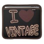 I Heart Vintage #2 - iPad sleeve