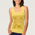 I Heart Vintage Books French  Tiger and Bee Hive Tank Top