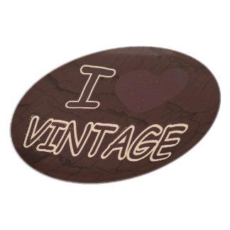 I Heart Vintage Plate