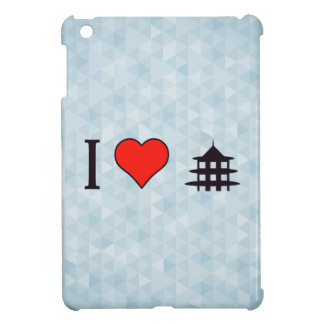 I Heart Visiting Chinese Temple iPad Mini Cases
