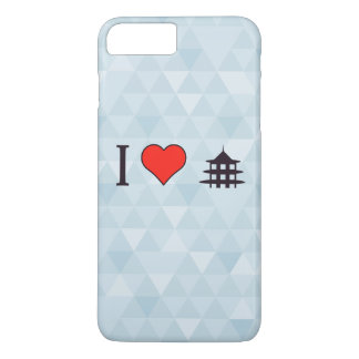 I Heart Visiting Chinese Temple iPhone 7 Plus Case