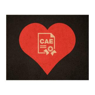 I Heart Vocational Training Icon Photo Cork Paper