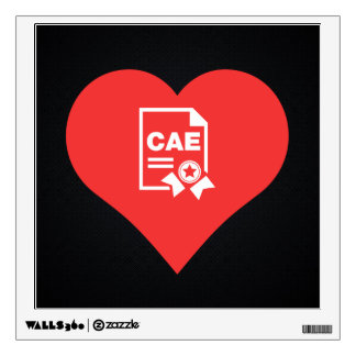 I Heart Vocational Training Icon Wall Skins