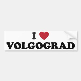 I Heart Volgograd Russia Car Bumper Sticker