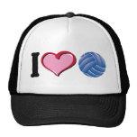 I heart volleyball trucker hat