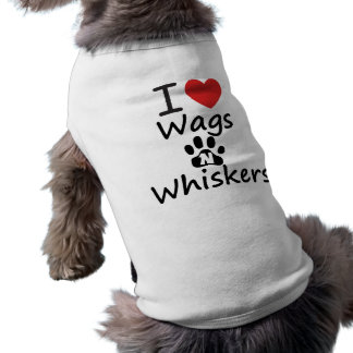 I Heart Wags N Whiskers Tee