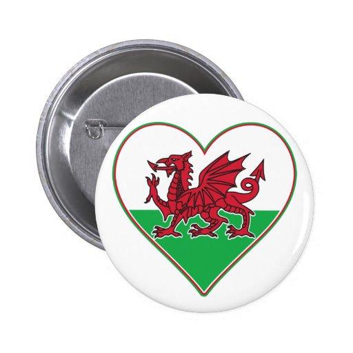 I Heart Wales Badge