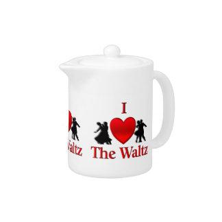 I Heart Waltz Teapot