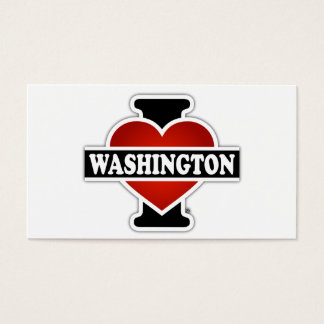 I Heart Washington Business Card