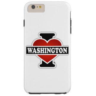 I Heart Washington Tough iPhone 6 Plus Case