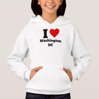 I Heart Washington DC Hoodie