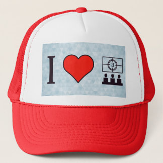 I Heart Watching On Cinema Theater Trucker Hat