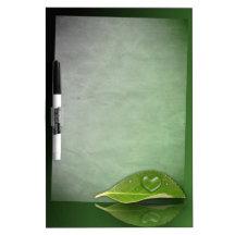 I heart Water Drops - Dry Erase Board