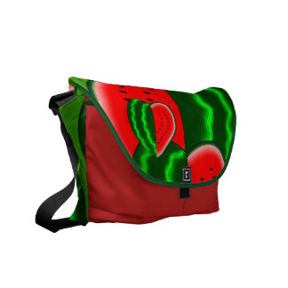 I (Heart) Watermelon Courier Bag