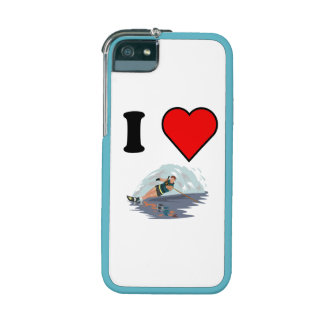 I Heart Waterskiing iPhone 5 Cases