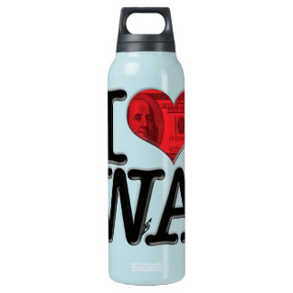 I (heart) WeAlth Thermos Bottle