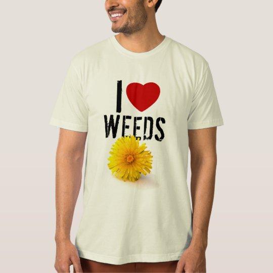 I Heart Weeds T-Shirt