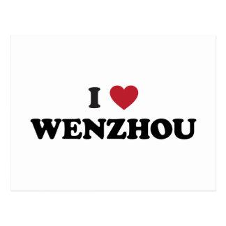I Heart Wenzhou China Postcard